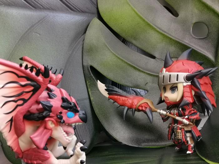 Раталос и охотница Коллекционные фигурки, Фигурка, Monster Hunter, Длиннопост