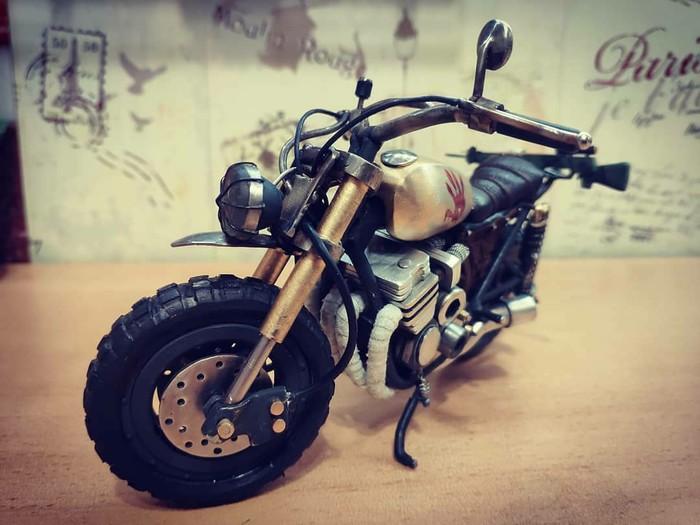 Мотоцикл Honda cb750 Своими руками, Мото, Ручная работа, Ходячие мертвецы, Рукоделие без процесса, Длиннопост