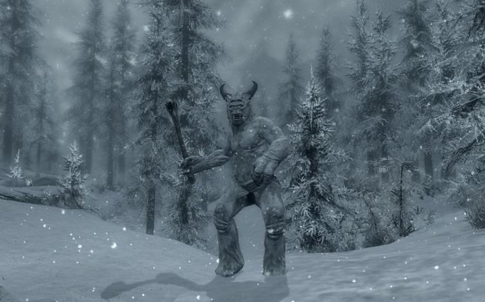 Новый вид искусства Игры, The Elder Scrolls V: Skyrim, Искусство, Анимация, Компьютерные игры, The Elder Scrolls, Рассуждения, Гифка, Длиннопост