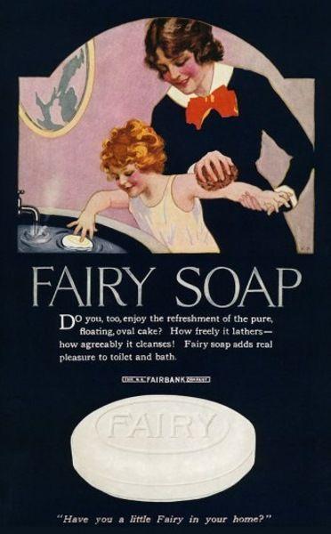 Какая была реклама бренда Fairy 50 лет назад? И кем они были?