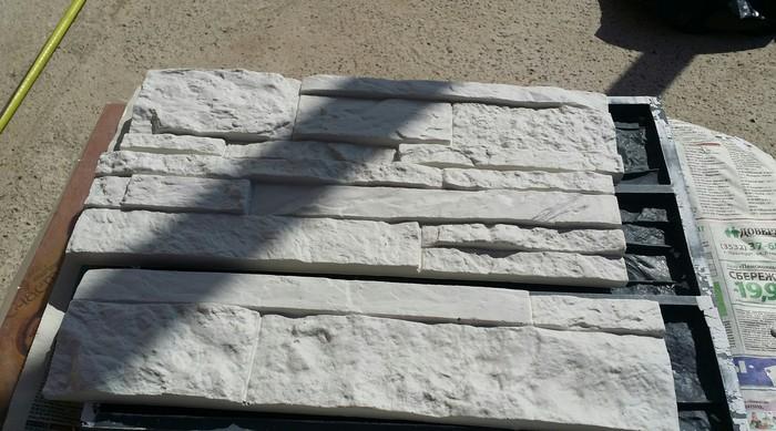 Декоративный камень своими руками Декоративный камень, Гипс, Длиннопост