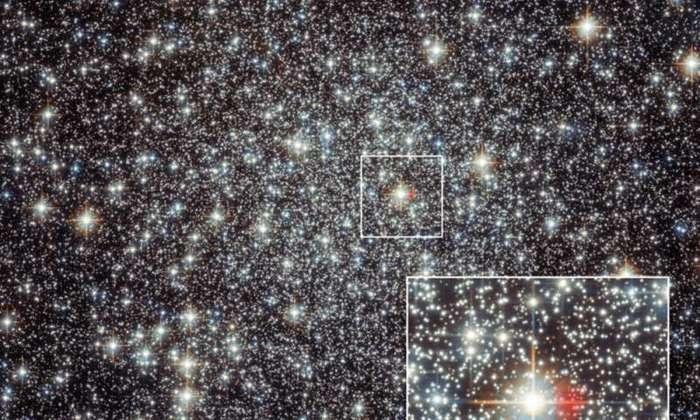 Обнаружен остаток вспышки новой, произошедшей в 48 г. до н.э. Астрономия, Млечный путь, Взрыв