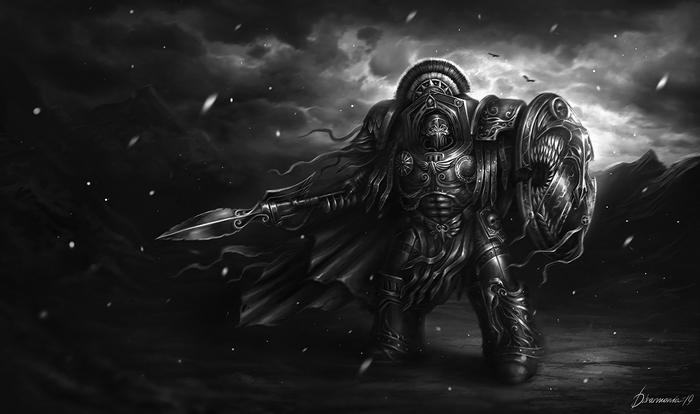 Asterion Moloc by d1sarmon1a Warhammer 40k, Wh Art, Minotaurus, Космодесант