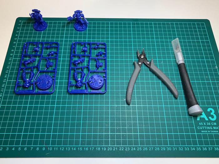 Покраска миниатюр для начинающих. Часть 2. Сборка и зачистка миниатюр. Грунтовка. Wh painting, Wh miniatures, Warhammer 40k, Warhammer, Гайд, Хобби, Стендовый моделизм, Моделизм, Длиннопост