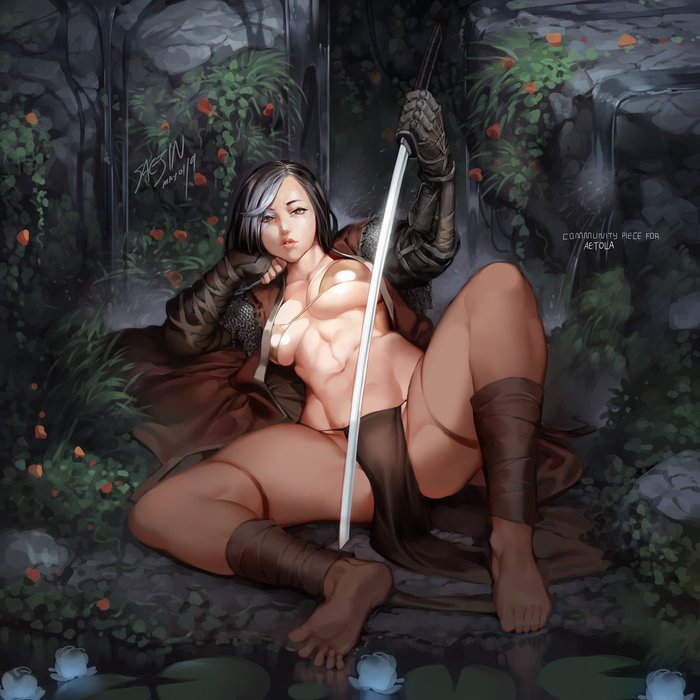 Секиро \ Волк Saejinoh, Sekiro: Shadows Die Twice, Sekiro, Игры, Арт, Правило 63