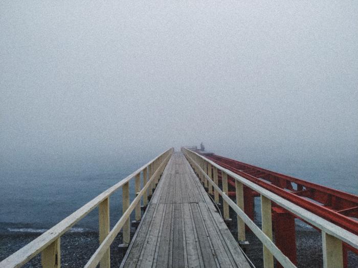 Туманное море Сочи, Море, Туман, Мобильная фотография, Фотография
