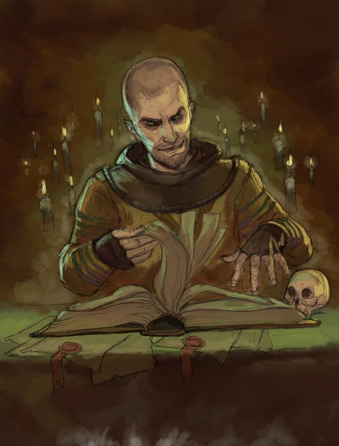 По счетам платить будем? Ведьмак, The Witcher 3:Wild Hunt, Скетч, Фан-Арт, Гюнтер оДим, Гюнтер ОДимм, Гюнтер о Дим
