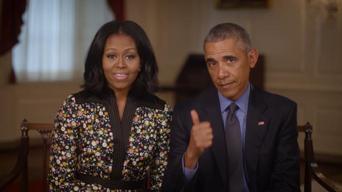 Мишель и Барак Обама будут выпускать собственные фильмы и сериалы совместно с Netlfix Обама, Netflix, Сериалы, Фильмы