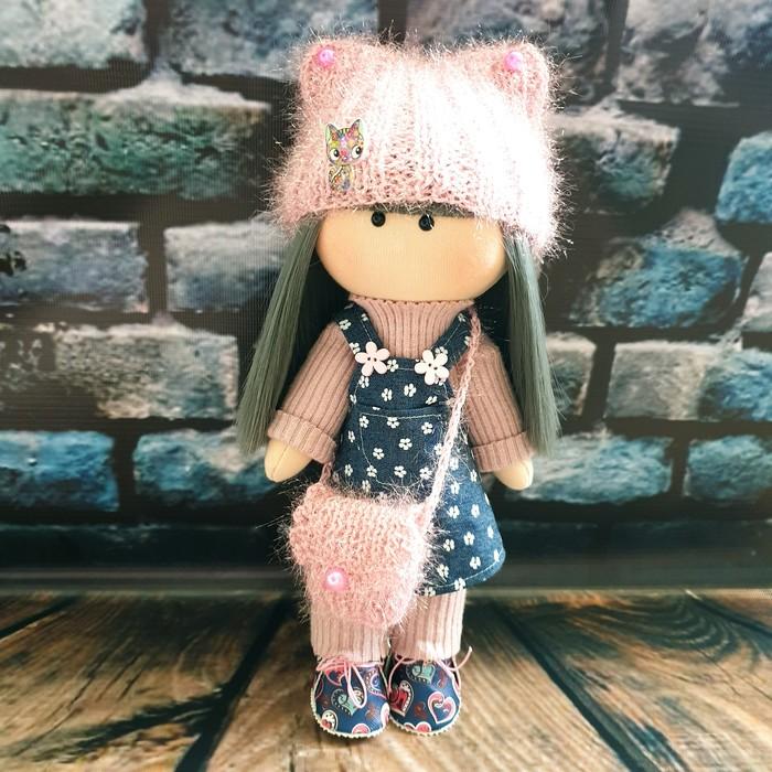 Куколка новенькая Кукла, Текстильная кукла, Интерьерная кукла, Своими руками, Ручная работа, Рукоделие без процесса, Рукоделие