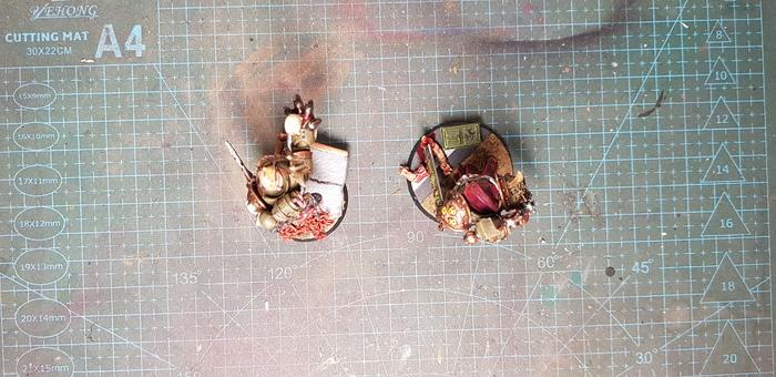 Дети Нургла Warhammer 40k, Wh miniatures