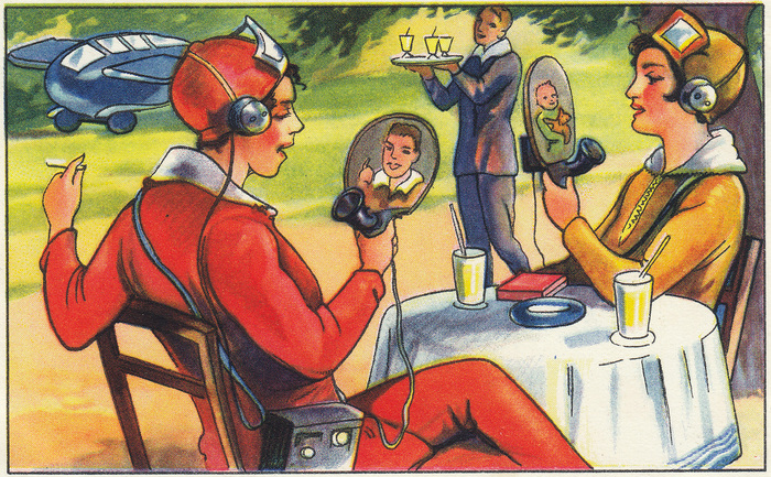 Немецкое ретро-будущее История, Ретро, Техника, Будущее, Ретрофутуризм, Длиннопост