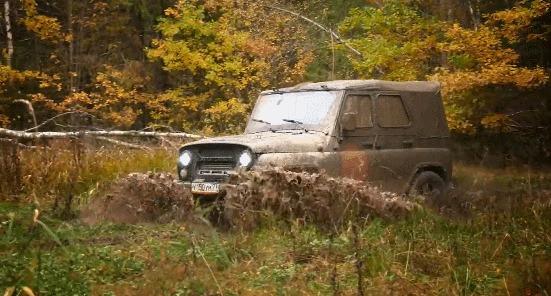 """Вот это удивил"": мужик совместил старый УАЗ и Toyota Land Cruiser Уаз, Уаз Хантер, Land Cruiser, Авто, Внедорожник, Гифка, Длиннопост"