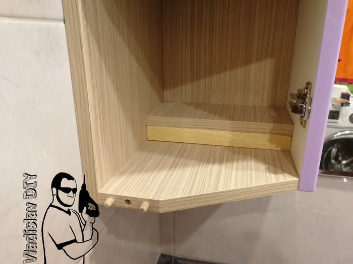 Мебельный гарнитур в ванную со столешницей из массива дуба Мебель, Мебель своими руками, Своими руками, Массив, Дуб, Мебель из лдсп, Рукоделие с процессом, Длиннопост