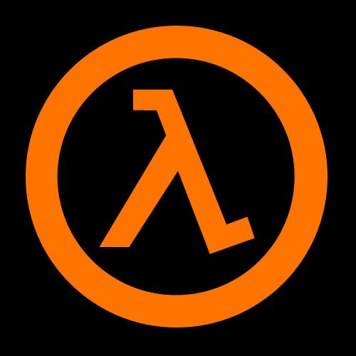 Логотип half-life Игры, Half-Life, Логотип, Монтировка