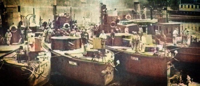 Битва за Чернобыль (да-да, тот самый Чернобыль) 1920 года История, Советско-Польская война, Речной флот, Битва, Украина, Чернобыль, Польша, Длиннопост