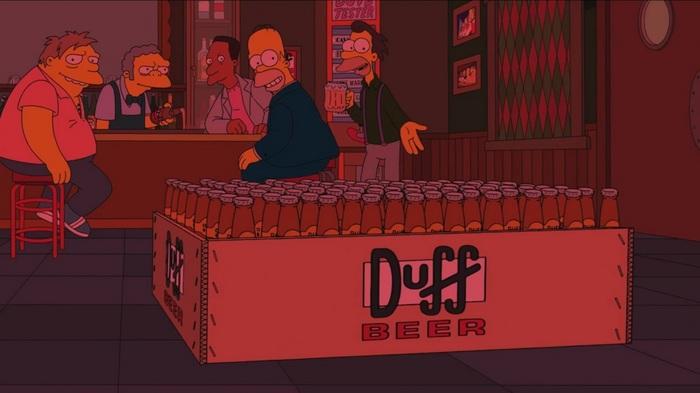 Еще одно предсказание Симпсонов сбылось, пиво которым можно проявить пленку. Симпсоны, Предсказание, Kodak, Пленка, Dogfish Head, Duff