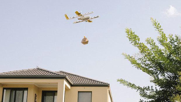 В США официально разрешили использовать дроны для доставок. Дрон, Беспилотник, Доставка грузов, США, Американцы, Длиннопост