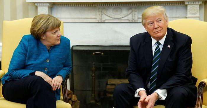 Анегдот дня Анекдот, Меркель, Трамп, Смешное, Видео