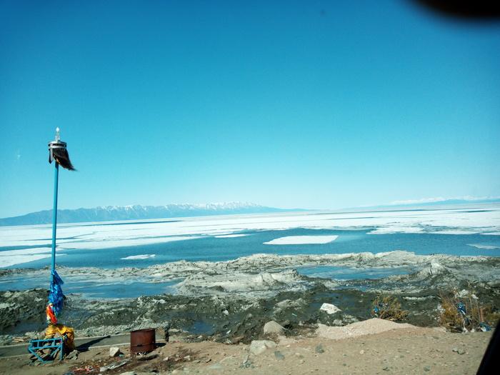 Баргузинский залив, Байкал Байкал, Лед