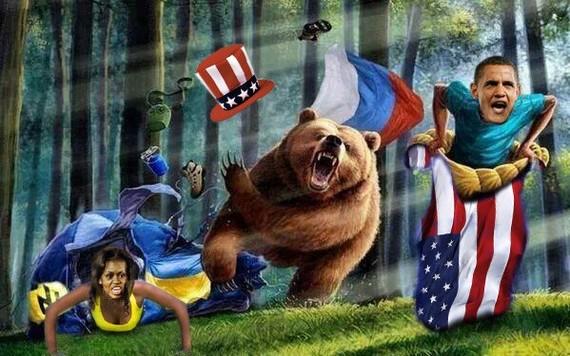 Боевые медведи Медведь, Русские, Длиннопост