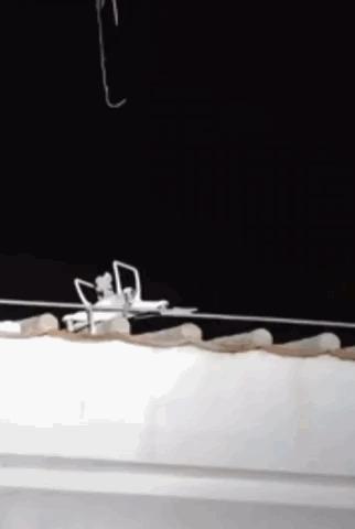 Спасение дрона.