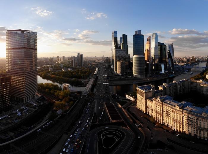 Май, Москва Сити Квадрокоптер, Москва-Сити, Город, Фотография
