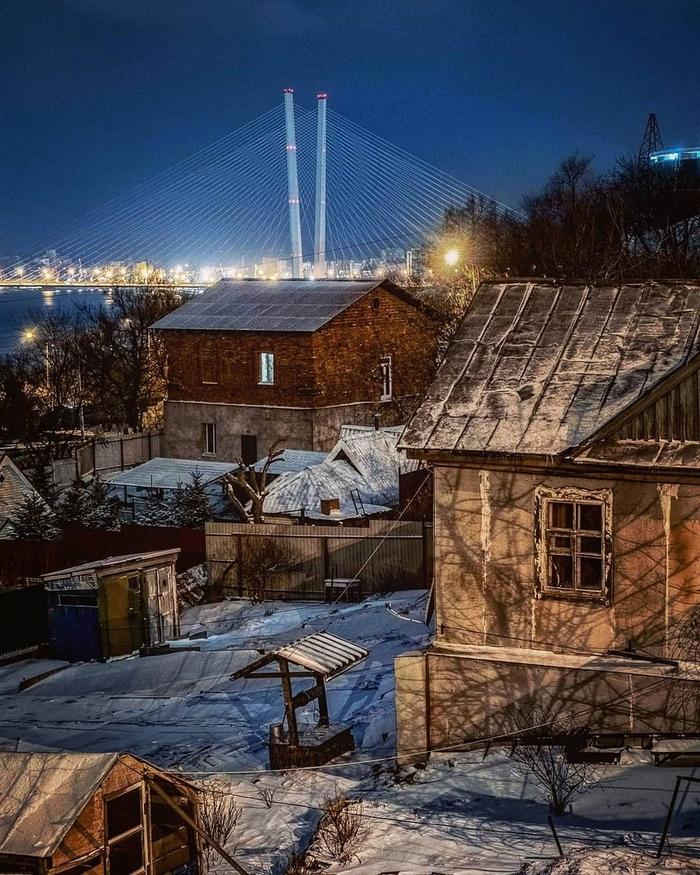 Владивосток Владивосток, Золотой мост