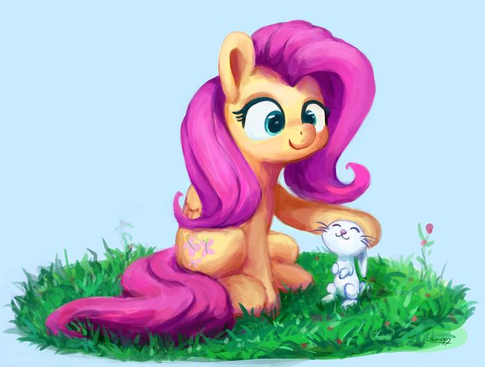 Кролик My Little Pony, Fluttershy, Angel Bunny