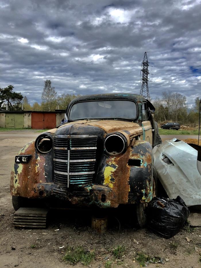 В ожидании восстановления Авто, Фотография, Автосервис