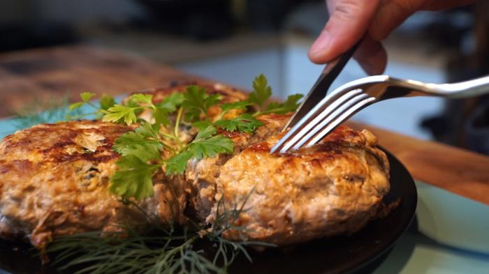 Колдуны или пирожки из мяса Еда, Котлеты, Мясо, Рецепт, Видео рецепт, Вкусно, Вкусняшки, Кулинария