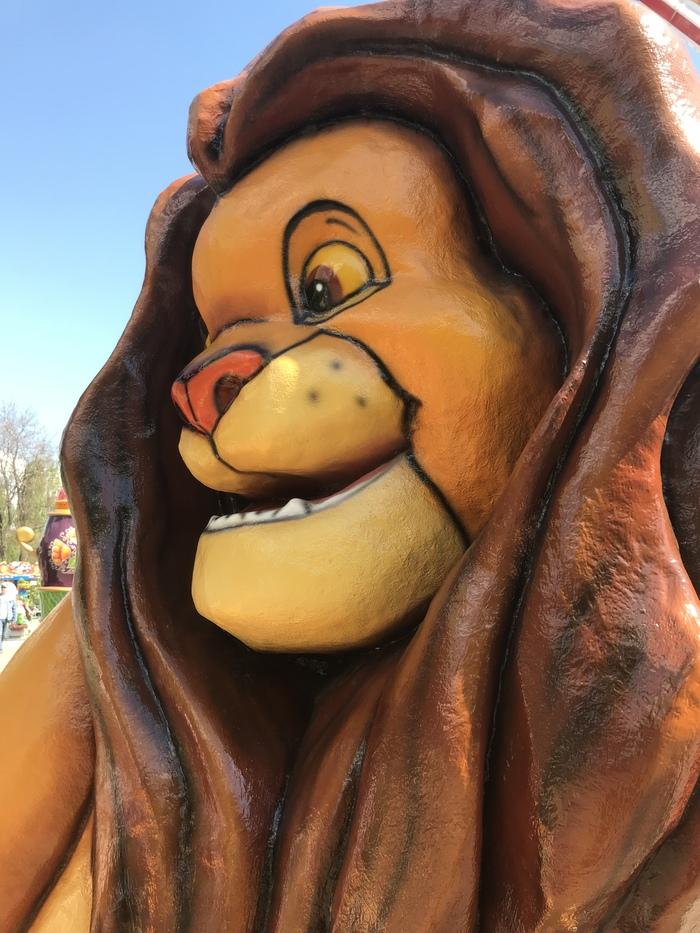 Я в первый рабочий день после майских Король Лев, Скульптура, Упоротость