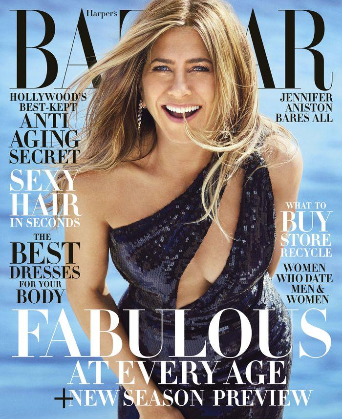 Дженнифер Энистон Harper's Bazaar US June-July 2019 Дженифер Энистон, Фотография, Длиннопост, Знаменитости