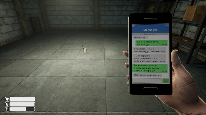 Escape until Friday или симулятор жертвы похитителя Игры, Indie, Steam, Длиннопост, Gamedev, Видео