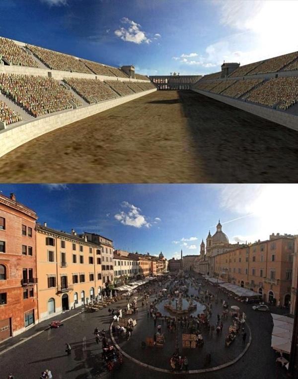 Представления о прошлом Древность, Воссоздание, Рим, Руины, Длиннопост