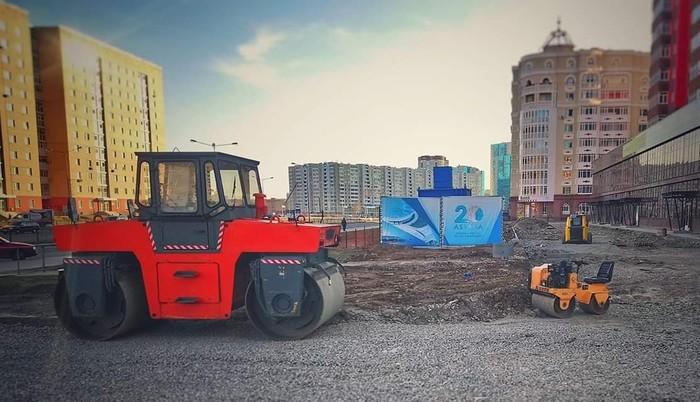Ну мааааам Казахстан, Строительная техника