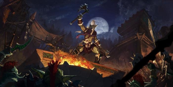 Фан-арт Зул'Джина. Автор:Vadim Simanin (GenDJiK) Warcraft, WOW, Blizzard, Game Art, Арт, Творчество, Зулджин