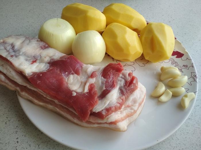 Семейный рецепт колбасы с картофелем за 125 рублей! Кулинария, Колбаса, Картофель, Купаты, Гифка, Длиннопост, Рецепт