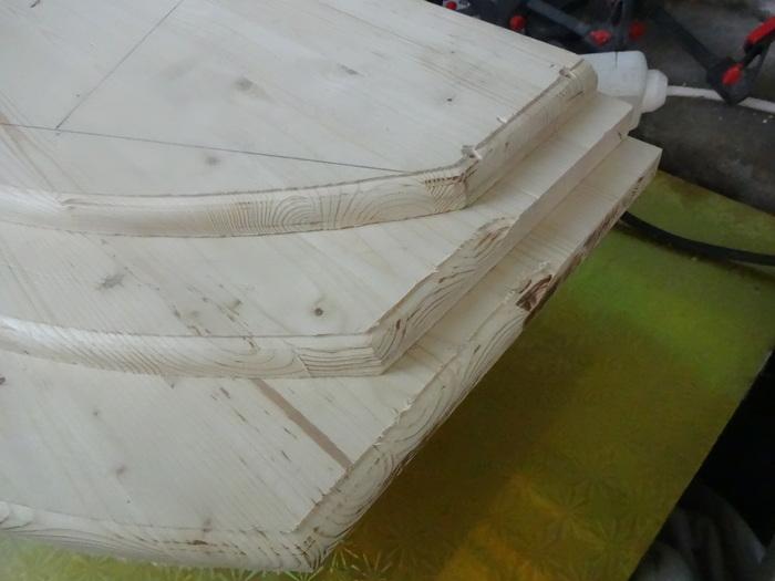 Стойка из дерева (мебельный щит) Работа с деревом, Мебель своими руками, Рукоделие с процессом, Длиннопост