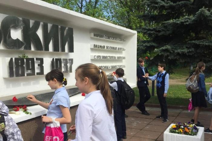 К Дню Победы школьники «вспомнили» Тухачевского 9 мая, Патриотизм, Тухачевский, Школьники