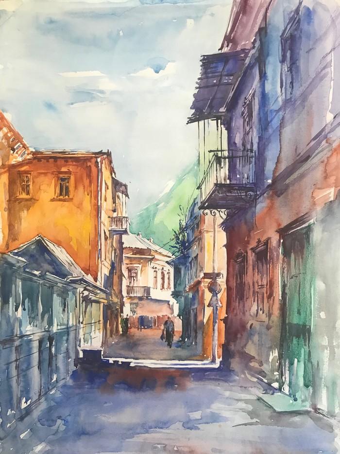 Улочка Тбилиси