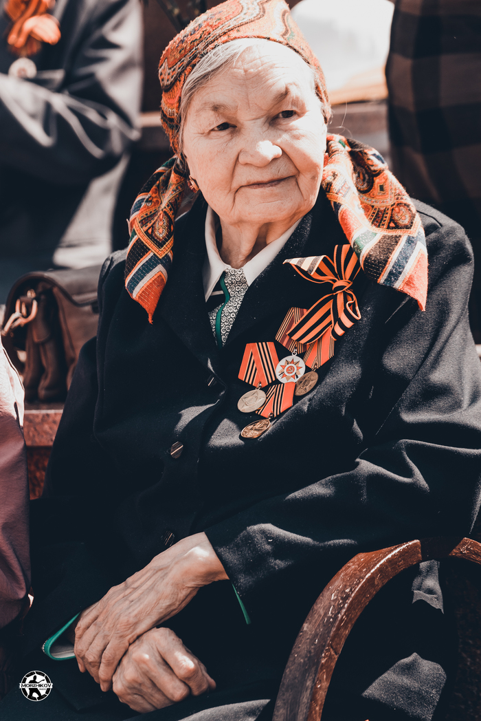 9 Мая 2019г город Уфа Уфа, 9 мая, Ветераны, Ветеран Великой Отечественной, Фотография, Длиннопост