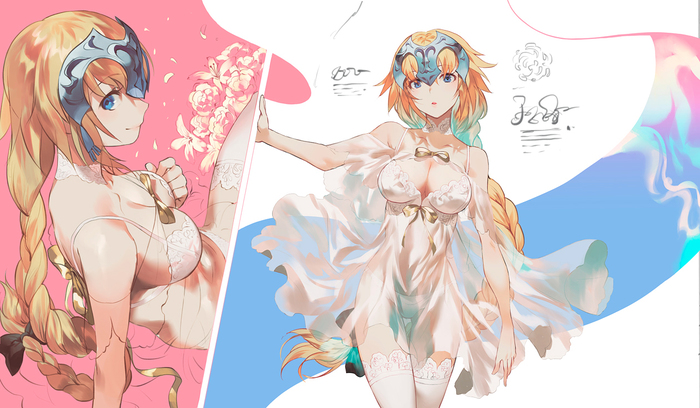 Fate/Grand Order Аниме, Anime Art, Fate Grand Order, Jeanne Alter, Jeanne Darc, Salmon88