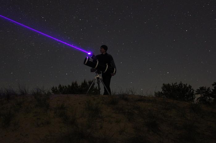 Целюсь в звезду. Астрономия, Телескоп, Ночь, Лазерная Указка, Выдержка, Северодонецк
