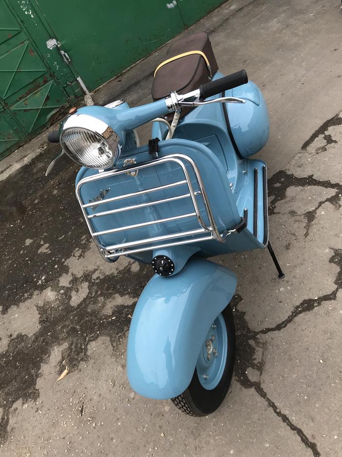 """""""Вятка"""" 1958 года после реставрации Мотороллер, Вятка, Реставрация, Drive2, Длиннопост"""
