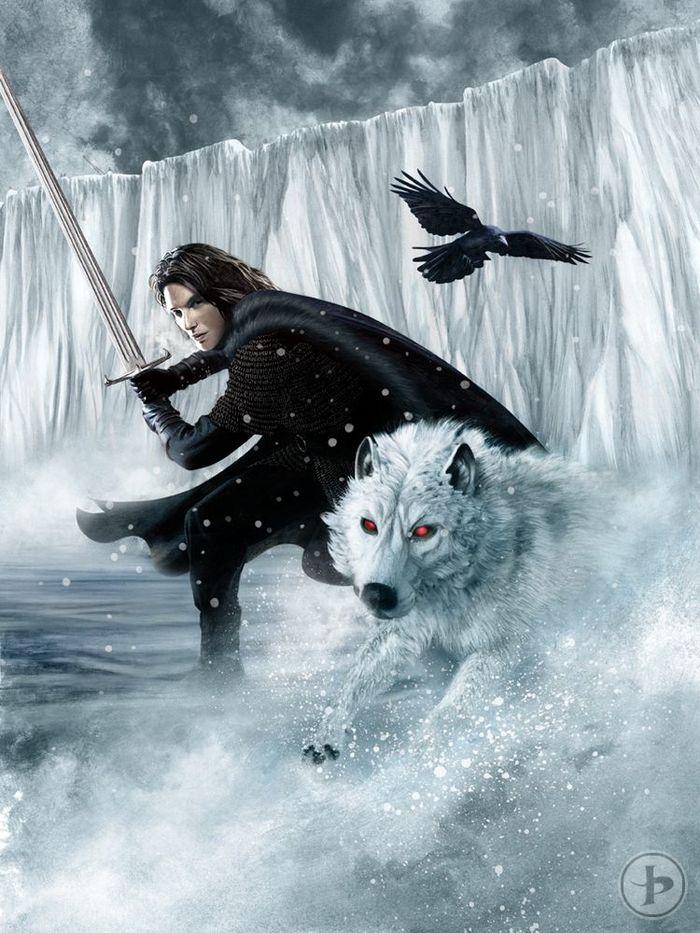 Настоящий Джон Сноу Игра престолов, ПЛИО, Танец с драконами, Джон Сноу, Призрак, Плиоцитаты