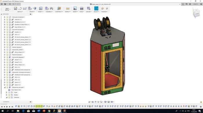 """Небольшой спойлер, или 3D-печать """"по-взрослому"""". Peek, Ultem, Tough-Steel, Высокотемпературная печать"""