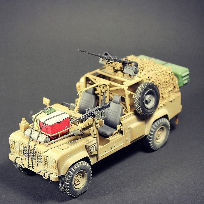 Landrover Defender WMIK Land Rover, Hobbyboss, Масштабная модель, Модели, Defender, Длиннопост