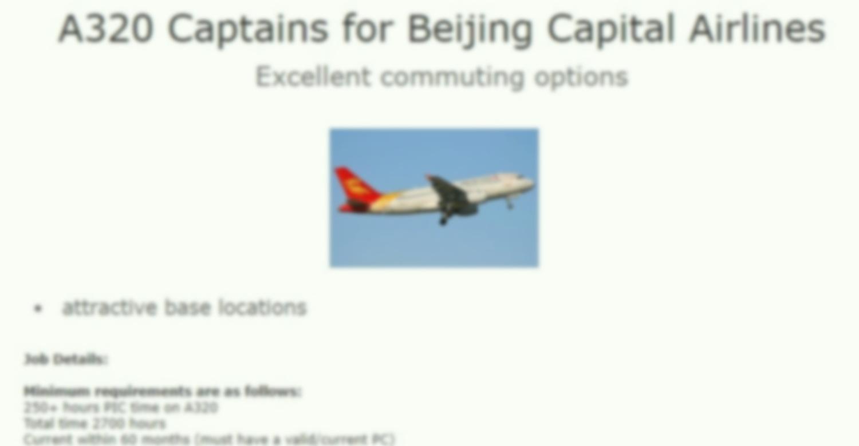 Почему лучшие пилоты уходят из России в Китай?