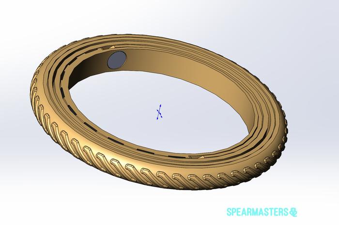 Кольцо не 16 века Кольцо, Интересное, 3D печать, Длиннопост