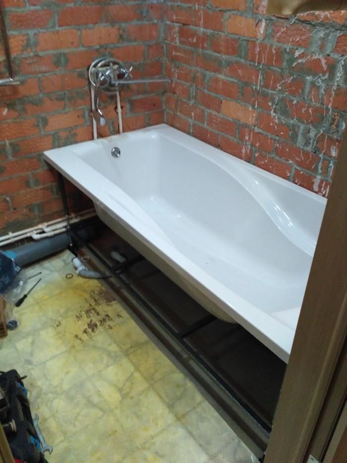 Самостоятельный ремонт санузлов. Часть 2 ванная комната Сам, Ремонт, Длиннопост